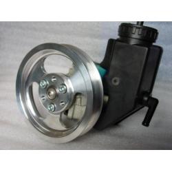 Power Steering Pump Pulley / Bracket - Billet Replacements for OE 92-02