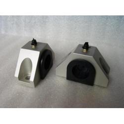 Sway Bar Caps & Polyurethane Bushing - Front GEN 1-2-3-4  BLACK