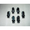 Premium Lug Nuts Set of 24: CHROME or BLACK $59 - $79/set