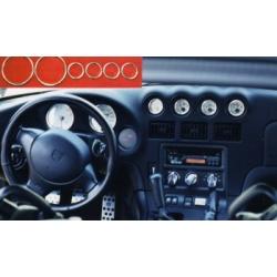 Interior 7 piece trim ring set