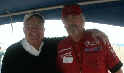 Jon Brobst and Carroll Shelby